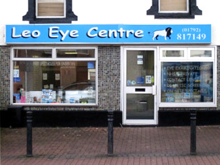 Leo Eye Centre Shop Front